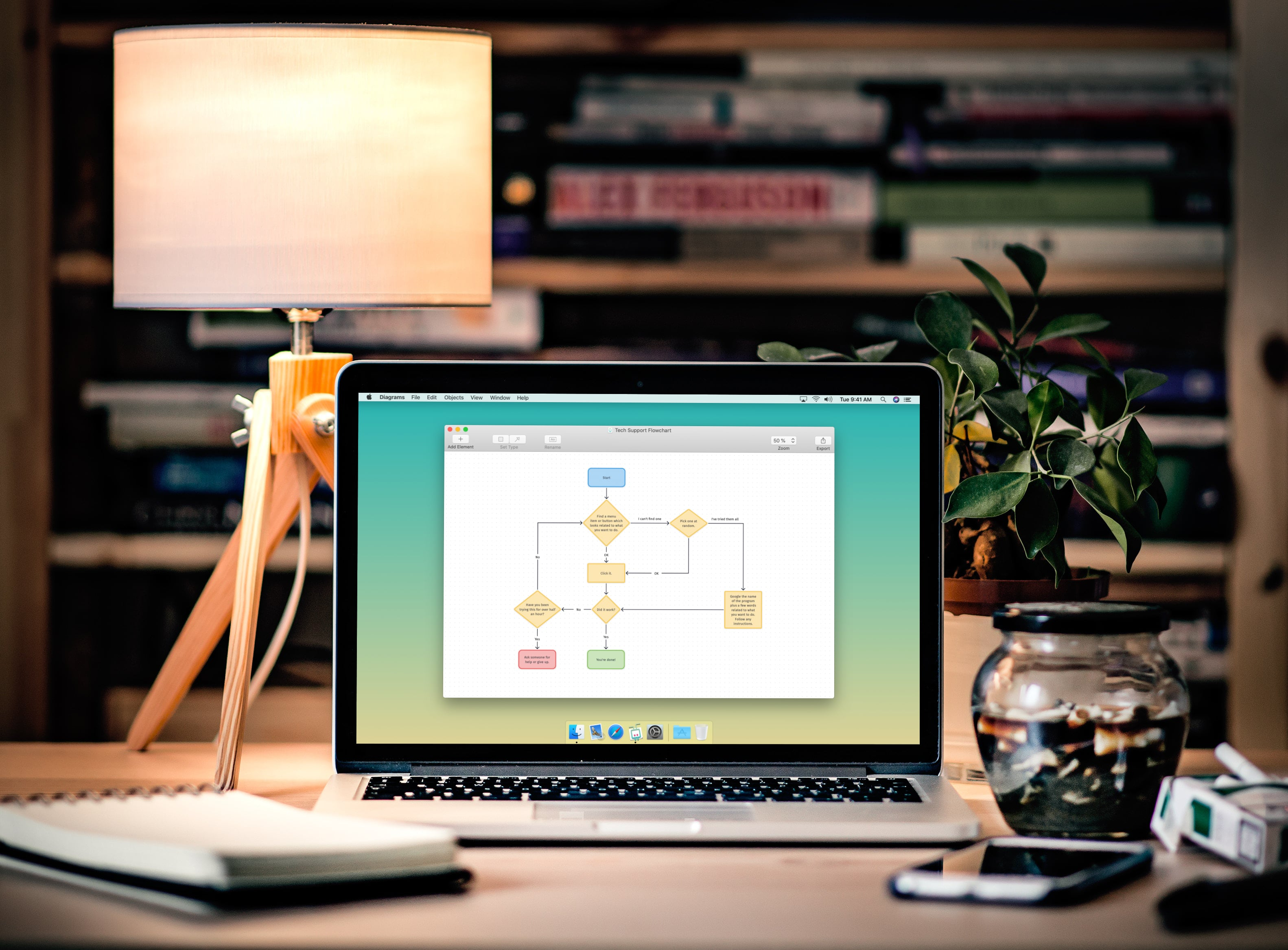 Diagrams for Mac: A Promising Beginning