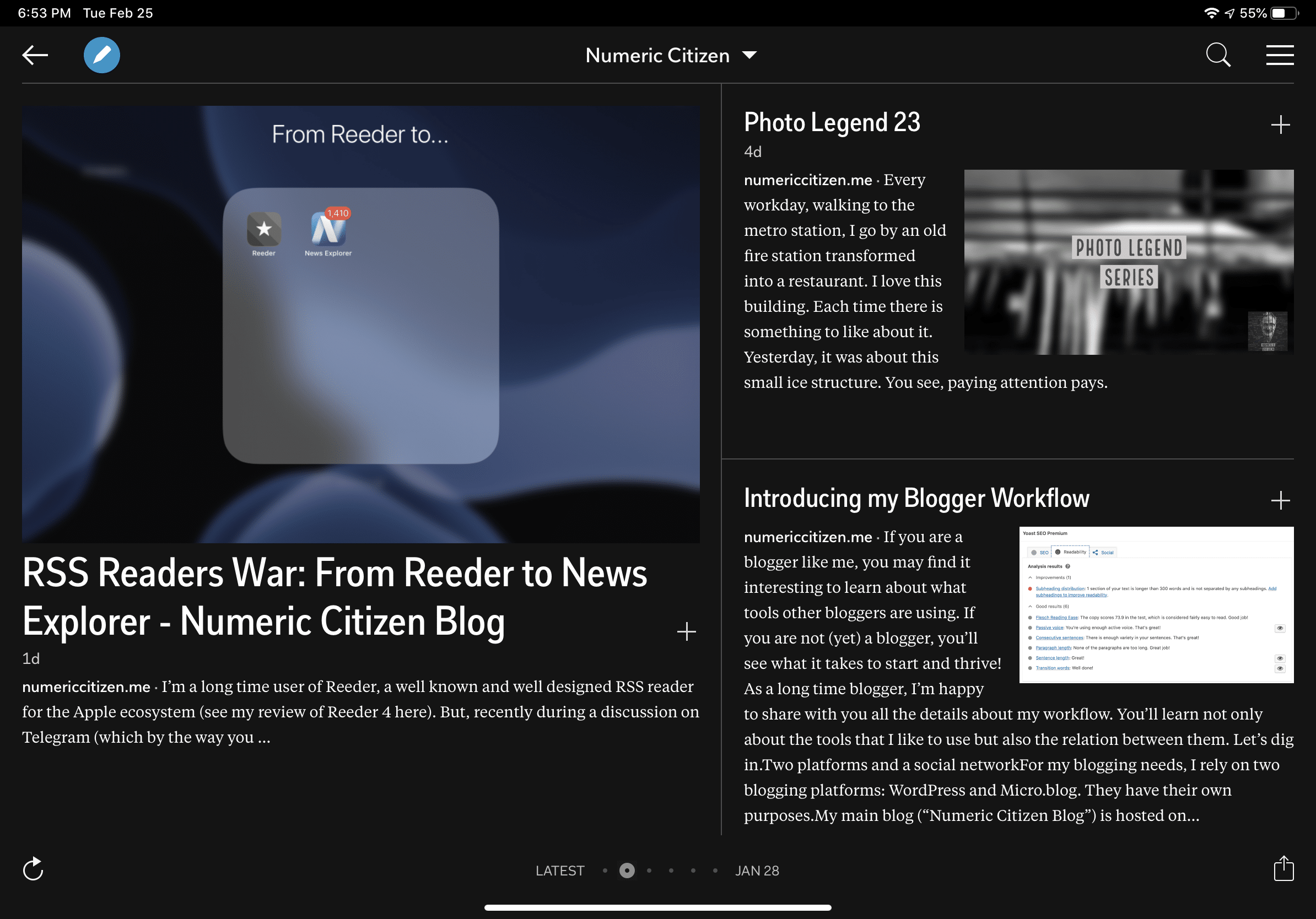 Now Available on Flipboard